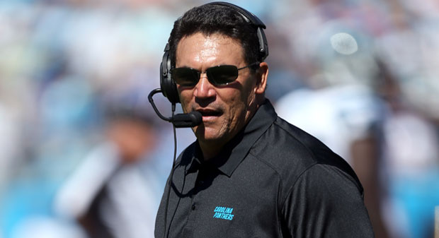 Ron Rivera: Panthers one or two plays away from being top NFCteam