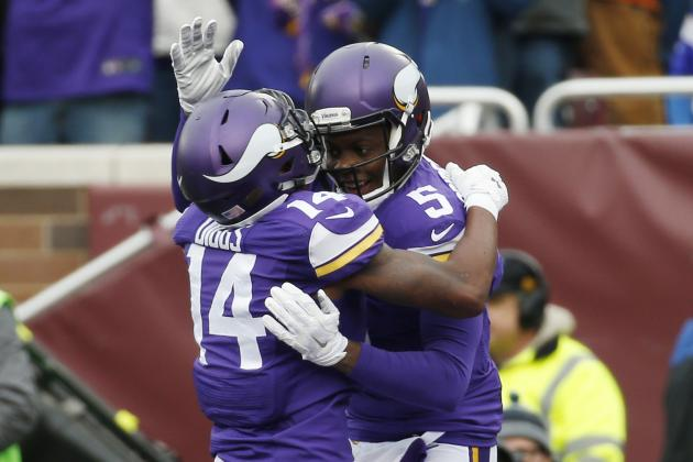 """Stefon Diggs on Teddy Bridgewater's return: """"If that doesn't inspire you, I don't know whatwill"""""""