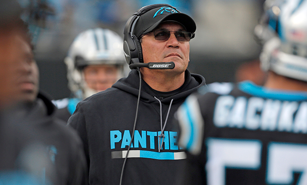 "Ron Rivera on Panthers gearing up for Super Bowl run: ""Everything we do will be about that"""